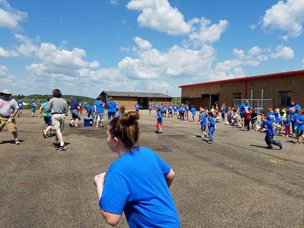Southwestern Elementary's 2016 Field Day Activities.