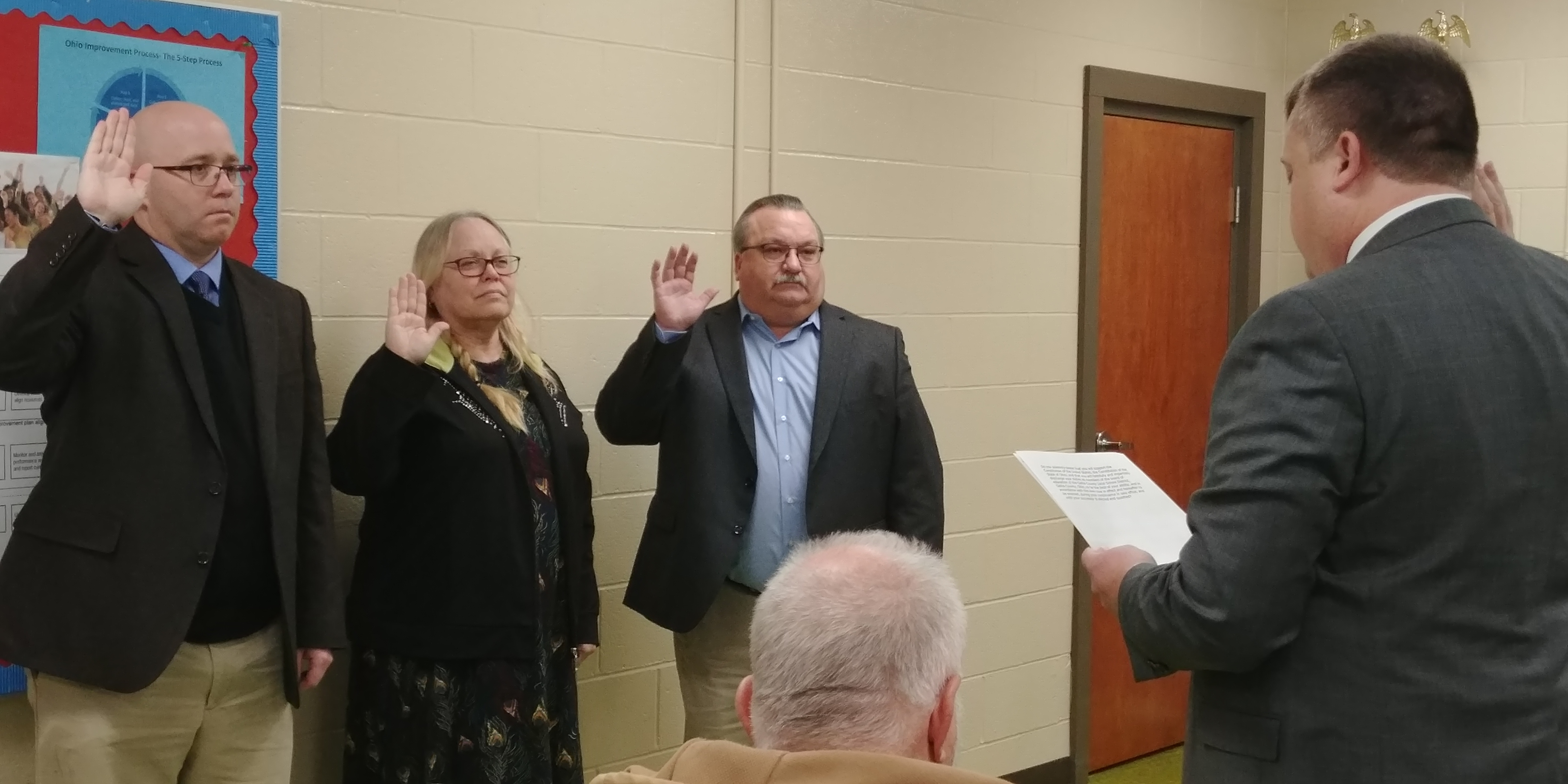 Swearing In Cermony